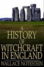 History of Witchcraft in England