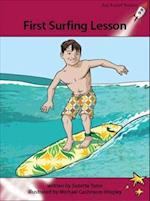 First Surfing Lesson