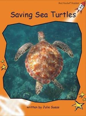Bog, paperback Saving Sea Turtles af Julie Suess