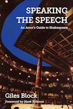Speaking the Speech af Mark Rylance