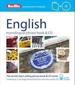 Berlitz Language: English Phrase Book & CD (Berlitz Phrase Books)