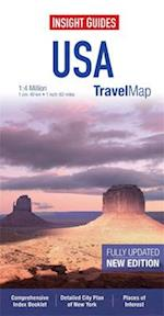 Insight Travel Map: USA & Canada South (Insight Travel Maps)