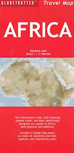 Africa (Globetrotter Travel Map)