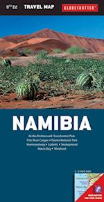 Namibia (Globetrotter Travel Map)