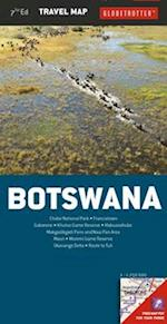 Botswana (Globetrotter Travel Map)