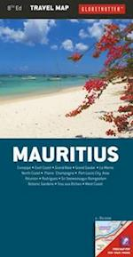 Mauritius Travel Map (Globetrotter Travel Map)