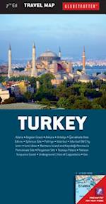Globetrotter Travel Map Turkey (Globetrotter Travel Map)