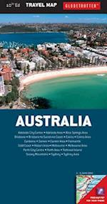 Australia Travel Map (Globetrotter Travel Map)