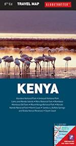 Kenya (Globetrotter Travel Map)