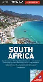 South Africa Travel Map (Globetrotter Travel Map)