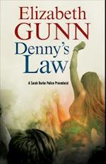 Denny's Law (A Sarah Burke Mystery)