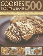 500 Cookies, Biscuits and Bakes af Catherine Atkinson