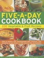 The Five-a-day Cookbook af Maggie Mayhew, Christine Ingram, Kate Whiteman
