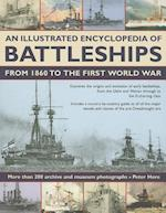 An Illustrated Encyclopedia of Battleships from 1860 to the First World War af Peter Hore