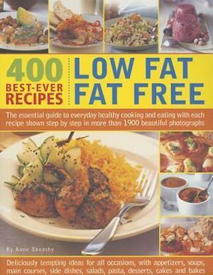 Bog, paperback 400 Low Fat Fat Free Best-ever Recipes af Anne Sheasby
