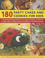 180 Party Cakes & Cookies for Kids af Martha Day