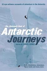 Mammoth Book of Antarctic Journeys (Mammoth Books)