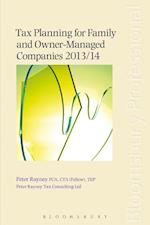 Tax Planning for Family and Owner-Managed Companies 2013/14