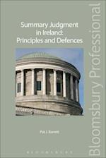 Summary Judgment in Ireland