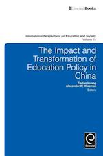 The Impact and Transformation of Education Policy in China (International Perspectives on Education and Society, nr. 15)