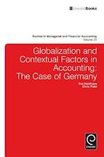 Globalisation and Contextual Factors in Accounting (STUDIES IN MANAGERIAL AND FINANCIAL ACCOUNTING, nr. 23)