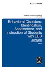 Behavioral Disorders (ADVANCES IN SPECIAL EDUCATION, nr. 22)