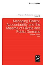 Managing Reality (ADVANCES IN PUBLIC INTEREST ACCOUNTING, nr. 16)