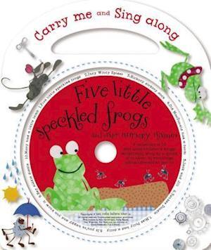 Bog, hardback Five Little Speckled Frogs af Kate Toms