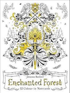 Bog paperback Enchanted Forest Notecards af Johanna Basford