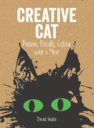 Bog, paperback Creative Cat: Pattern, Doodle, Colour with a Muse af David Sinden