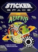 Sticker Space & Aliens af Srk