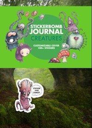 Bog, paperback Stickerbomb Journal af Srk