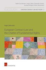 European Contract Law and the Charter of Fundamental Rights (European Contract Law and Theory, nr. 2)