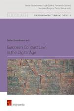 European Contract Law in the Digital Age (European Contract Law and Theory, nr. 3)