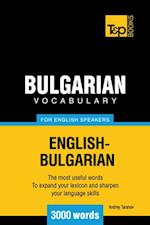 Bulgarian Vocabulary for English speakers - 3000 Words af Andrey Taranov