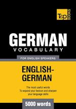 German Vocabulary for English speakers - 5000 Words