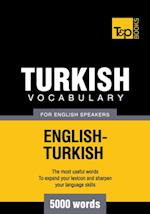 Turkish Vocabulary for English speakers - 5000 Words af Andrey Taranov