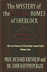 The Mystery of the Scarlet Homes of Sherlock af Richard Krevolin