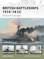 British Battleships 1914 18 (2) af Angus Konstam
