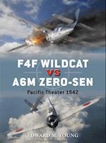 F4F Wildcat vs A6M Zero-sen