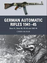 German Automatic Rifles, 1941-45 (Weapon, nr. 24)