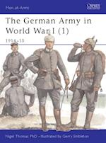 German Army in World War I (1) (Men-At-Arms)