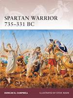 Spartan Warrior 735 331 BC af Duncan Campbell