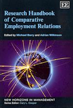 Research Handbook of Comparative Employment Relations af Michael Barry