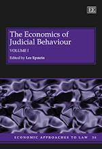 The Economics of Judicial Behaviour (Economic Approaches to Law Series, nr. 38)