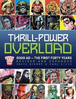 Bog, hardback Thrill-Power Overload af David Bishop