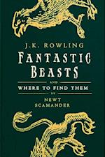 Fantastic Beasts and Where to Find Them (Hogwarts Library books)