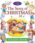 The Story of Christmas Sticker Book (Candle Bible for Toddlers)