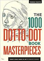 The 1000 Dot-to-Dot Book: Masterpieces (1000 Dot to Dot)