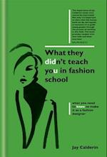 What They Didn't Teach You in Fashion School (What They Didnt Teach You In School)